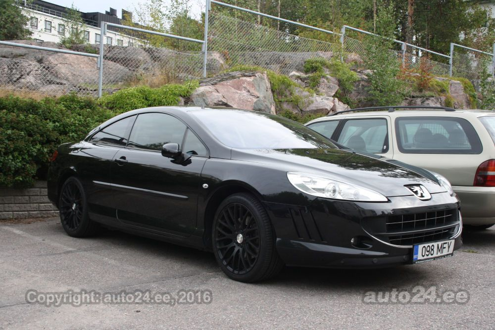 peugeot 407 coupe 2 7 v6 150kw. Black Bedroom Furniture Sets. Home Design Ideas