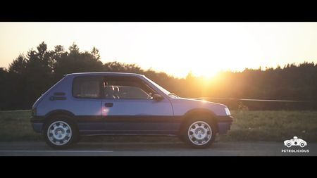 Peugeot 205 GTI. Kaader: Youtube