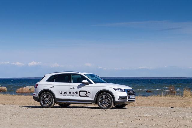 Motorsi proovisõit - Audi Q5