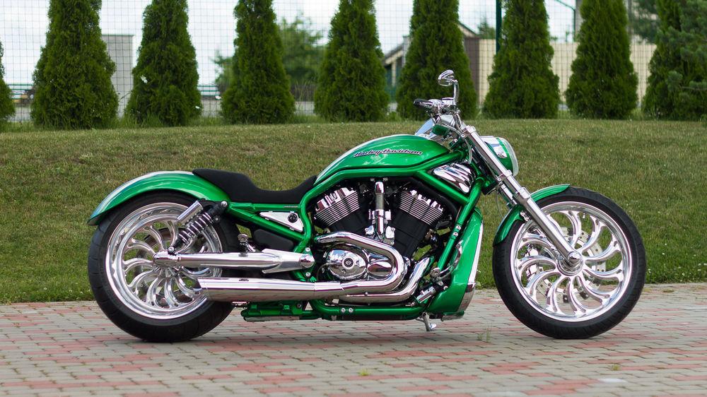 Bike Motors - Organic Green V-Rod