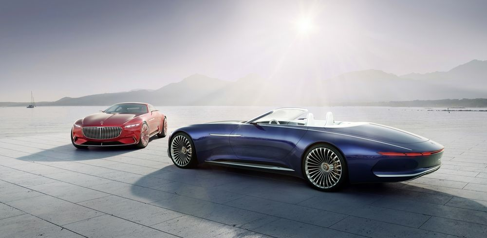 Mercedes-Maybach 6 Cabriolet nihutab luksuse piire