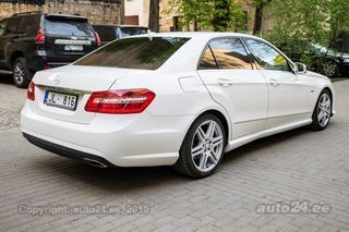 Mercedes-Benz E 350 Avantgarde blue efficiency 3.0 V6 170kW