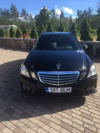 Mercedes-Benz E 350 AMG 7G-Tronic 4MATIC BlueEFFICIENCY 3.0 195kW