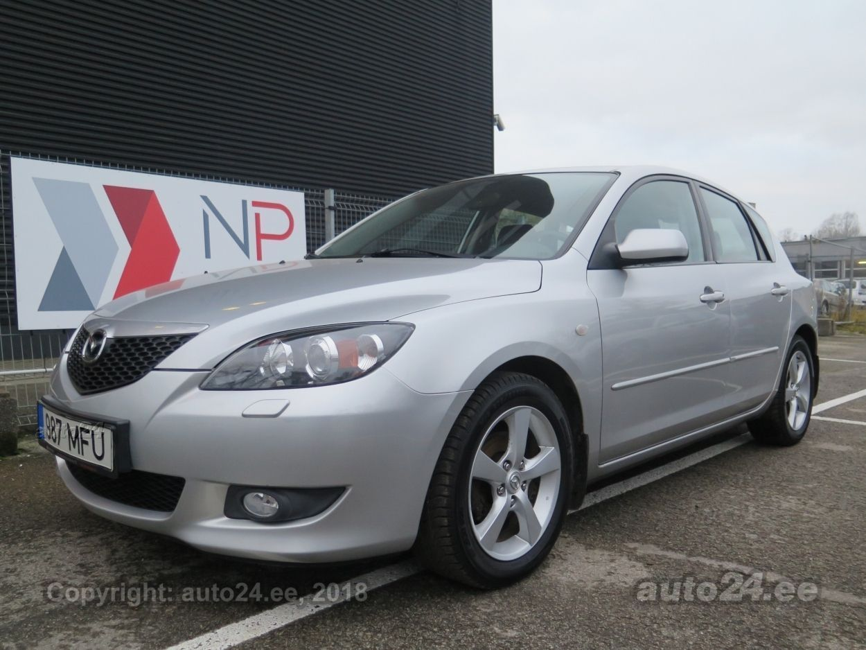 Mazda 3 Facelift 1.6  77 kW