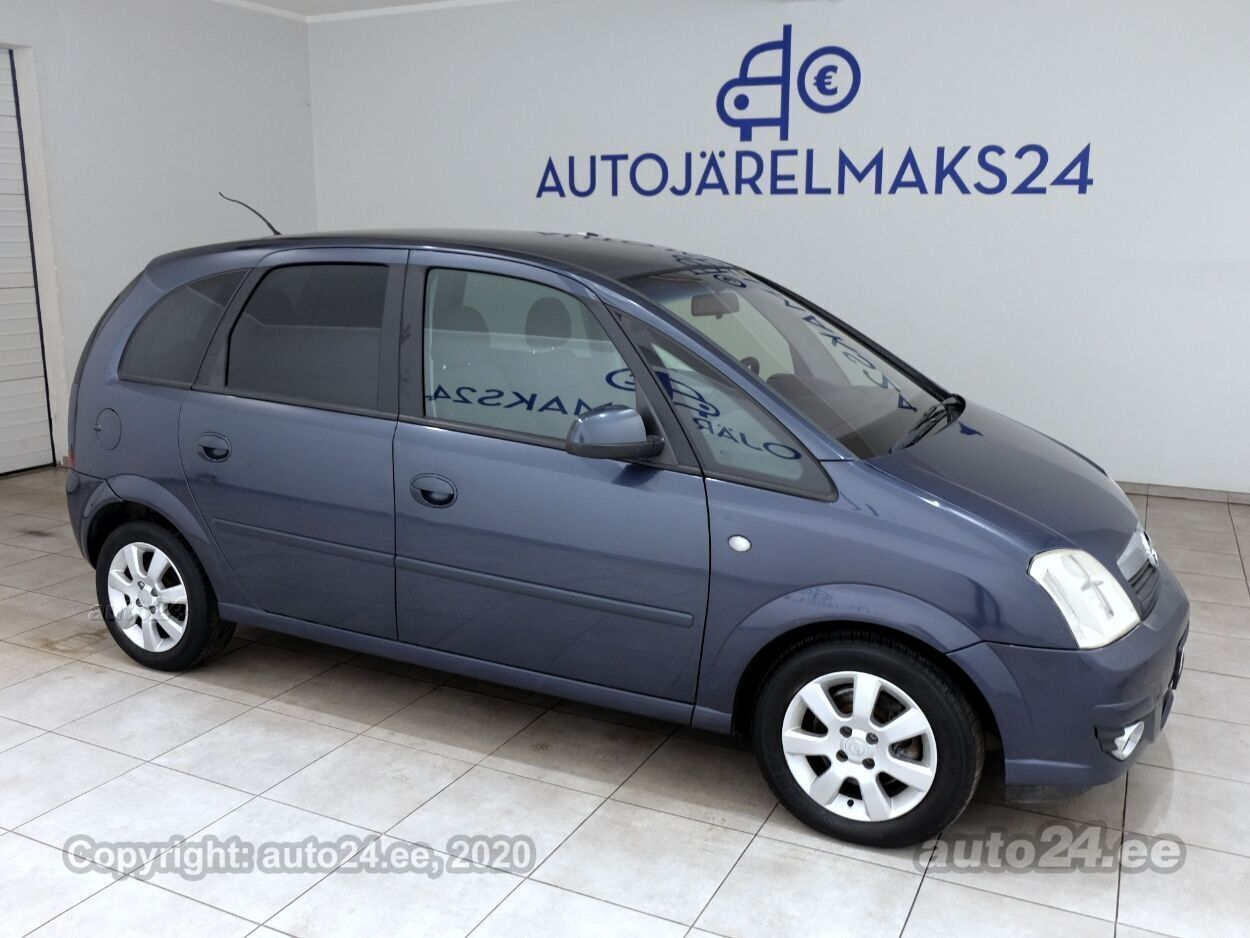 Opel Meriva Facelift LPG - Photo