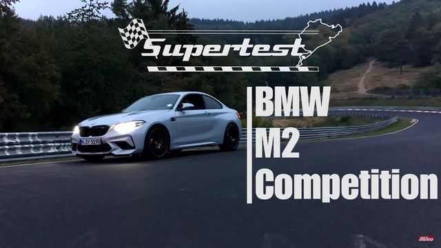 BMW M2 Competition. Kaader: Youtube