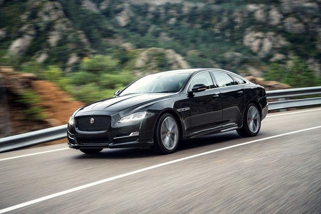 Jaguar XJ-R Sport. Foto: newspress.co.uk