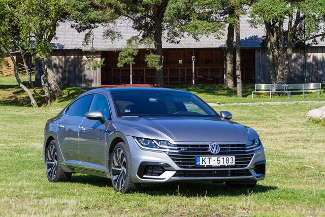 VW Arteon 2017. Foto: Laas Valkonen