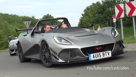 Lotus 3-Eleven. Kaader: Youtube