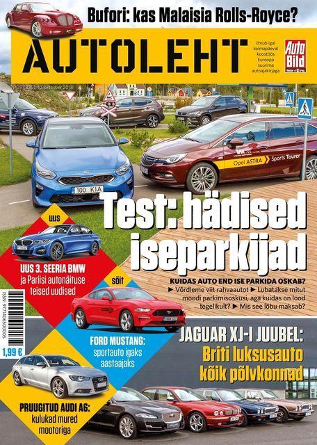 10. oktoobri Autoleht. Foto: Autoleht
