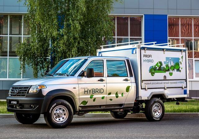Uaz Profi Hybrid. Foto: UAZ