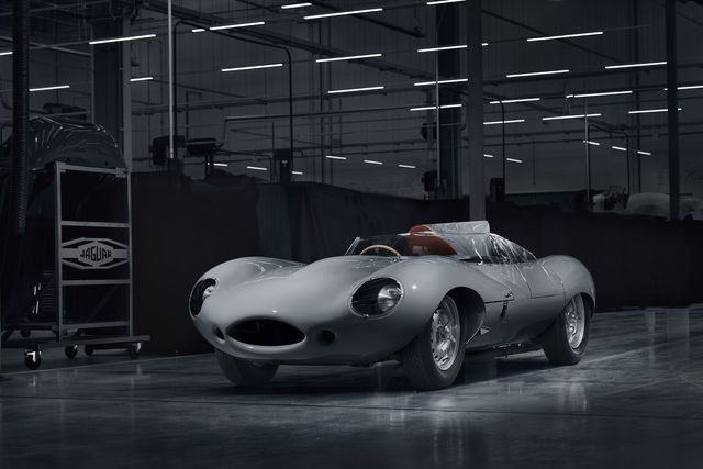 Jaguar D-Type. Foto: Jaguar Land Rover