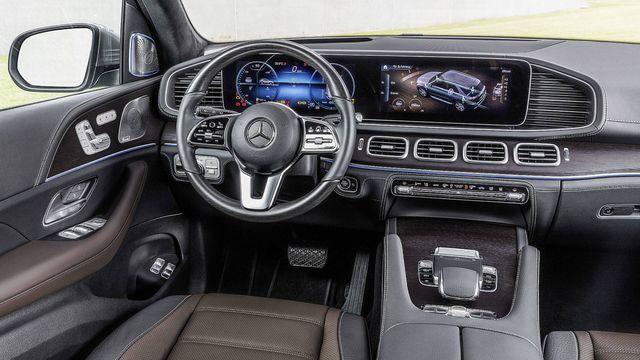 Mercedes-Benz GLE. Foto: Daimler