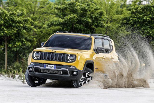 Jeep Renegade. Foto: FCA
