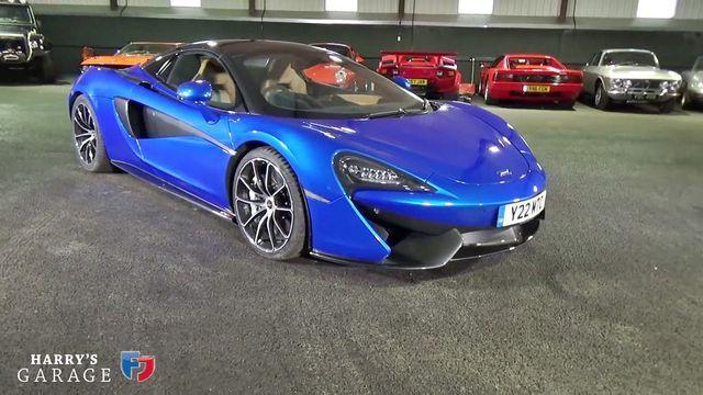 McLaren 570S. Kaader: Youtube