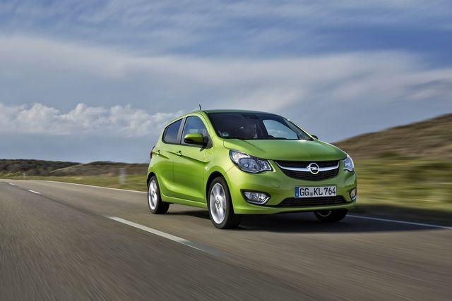 Opel Karl. Foto: Opel