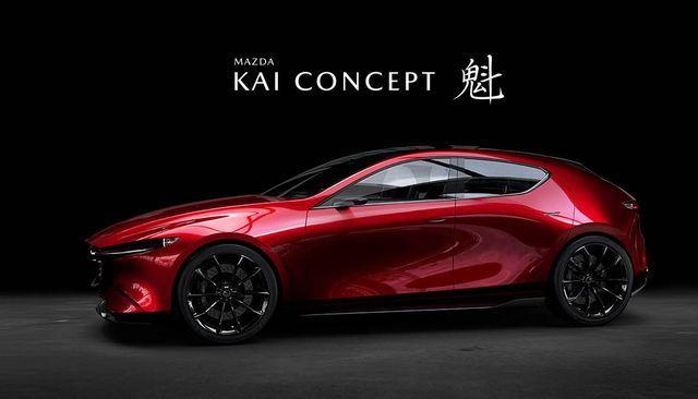 Mazda Kai Concept. Foto: Mazda
