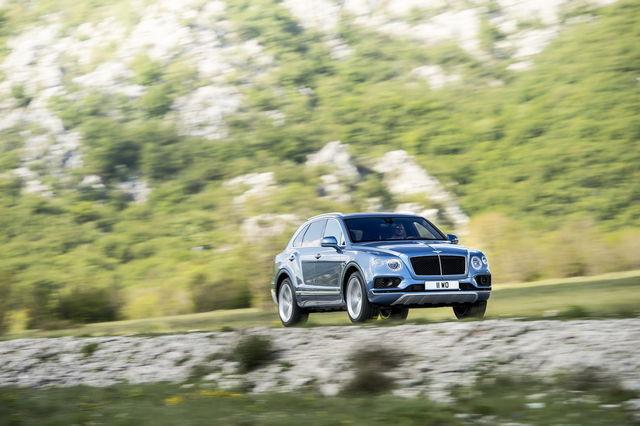 Bentley Bentayga Diesel. Foto: Bentley