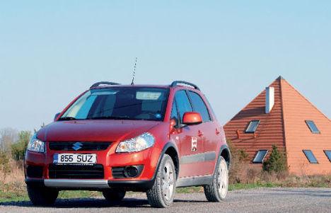 Tundub, justkui oleks Suzuki SX4 loojatel autot konstrueerides silme ees olnud Eesti teelolud.