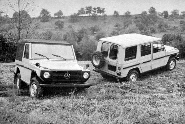 G-mersu tuli kahe poolega tagaluugiga, mis peagi asendus ühe suurega. Foto: Daimler