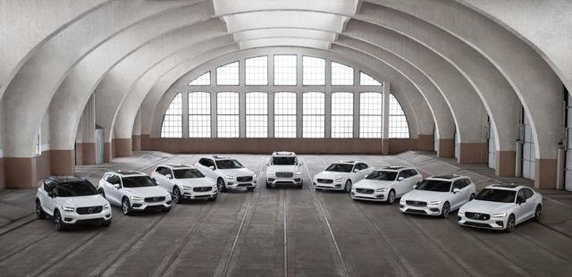 Volvo mudelivalik 2019. Foto: Volvo