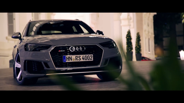 Audi RS4. Kaader: Youtube