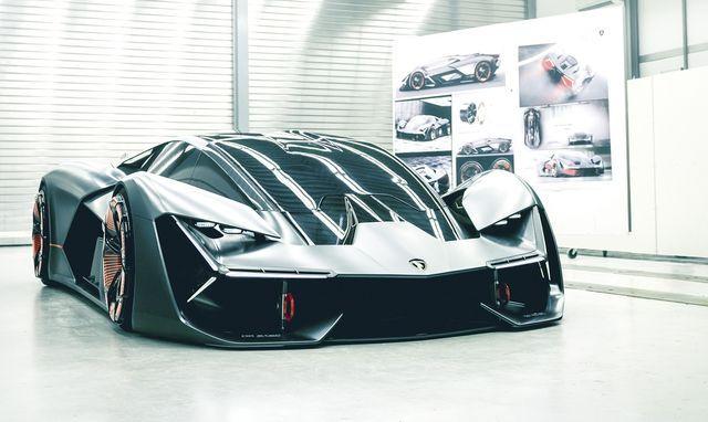 Lamborghini Terzo Millenio. Foto: Lamborghini