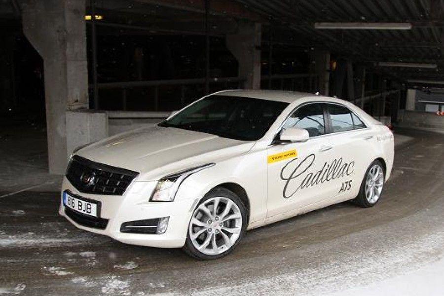 Mis on juhitavuselt sama konkreetne nagu Audi ja samas vaikne nagu Lexus? Vastus: CadillacATS.