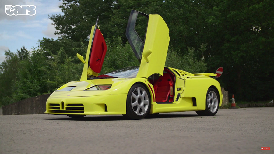 Chris Harris on Cars: Bugatti EB110 SS