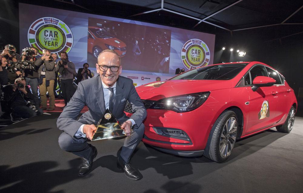 Opel Astra on Aasta Auto 2016