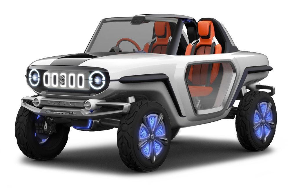 Suzuki esitleb pisikese elektrimaasturi prototüüpi