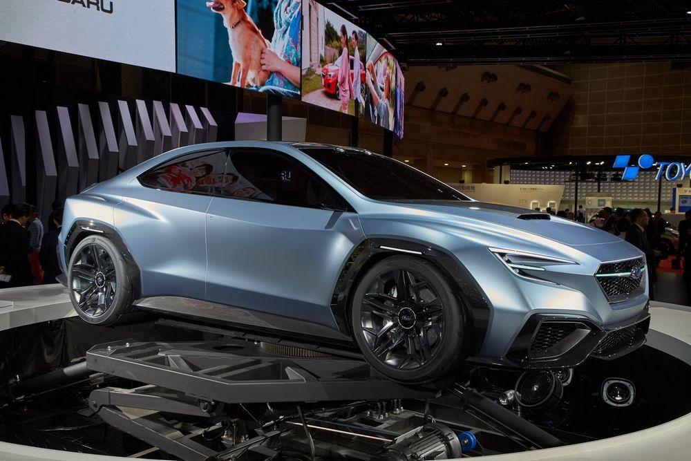 TOKYO 2017: Subaru esitles jõulist ideeautot
