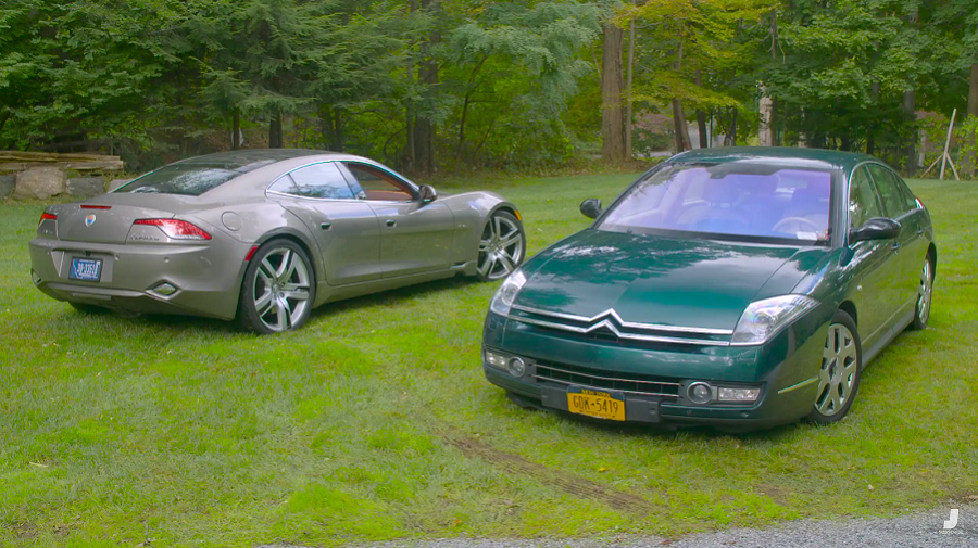 Jason Drives: Fisker Karma vs Citroen C6