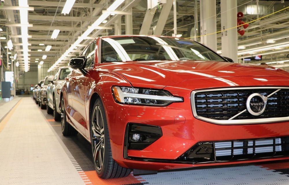 Volvo alustas S60 seeriatootmist
