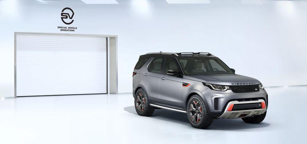 Jaguar Land Rover viib Discovery tootmise Slovakkiasse